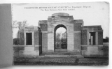 a postcard from Lyssenthoek British Military Cemetery - Poperinghe Belgium; edition Souillard, Péronne